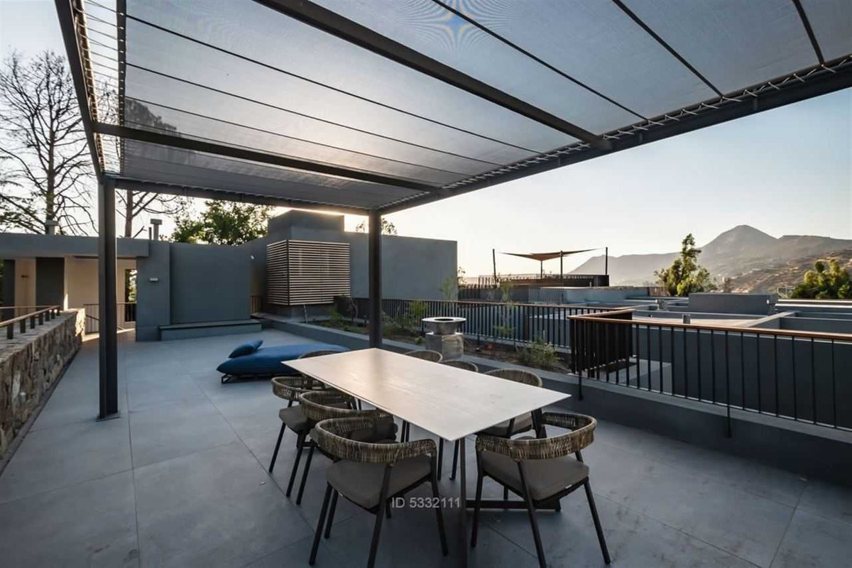 loft contemporáneo con roof terrace
