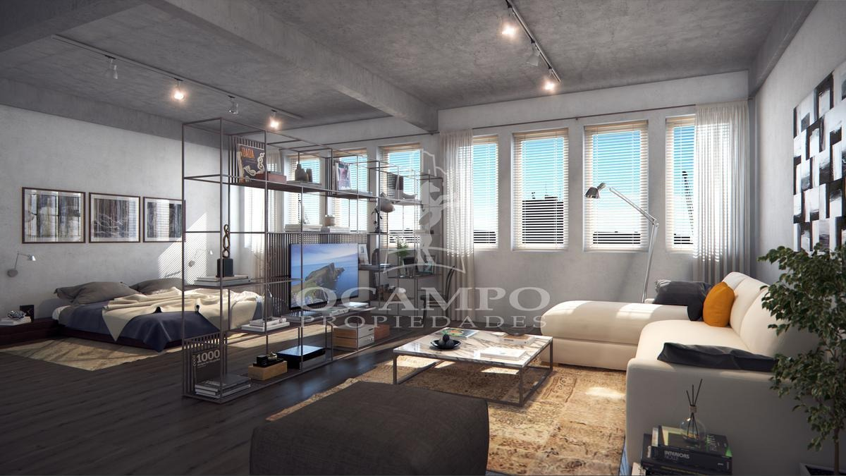 loft de 2 ambientes en puerto retiro