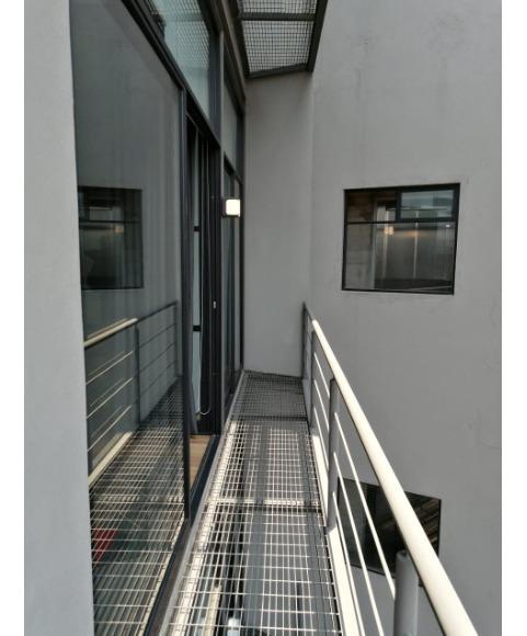 loft de techo alto, roof garden comun, se entrega amueblado