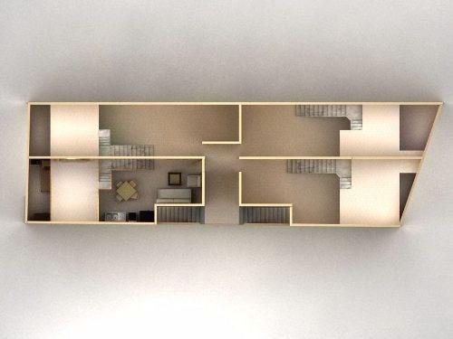 loft de una recámara con tapanco dentro de conjunto con amplas áreas c