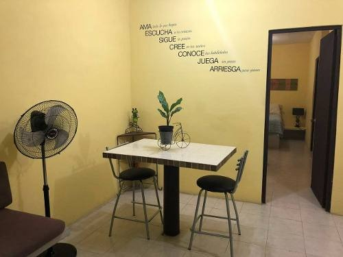loft en renta tlacotalpan, palma real