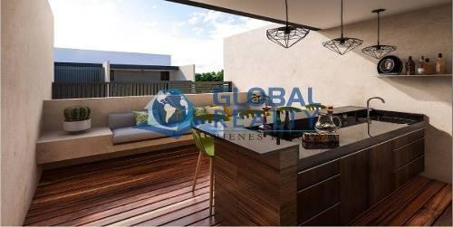 loft en venta en privada, temozon zona uvm. dv-4986
