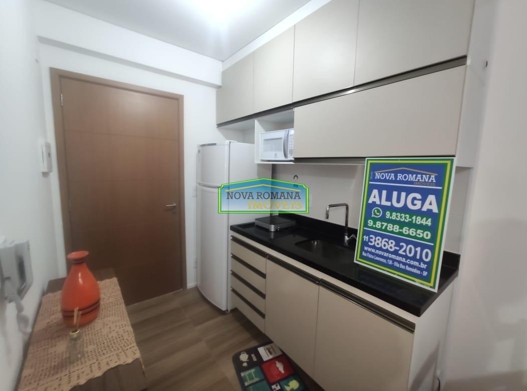 loft - mobiliado 33 m² 1 vaga de garagem. - 4527