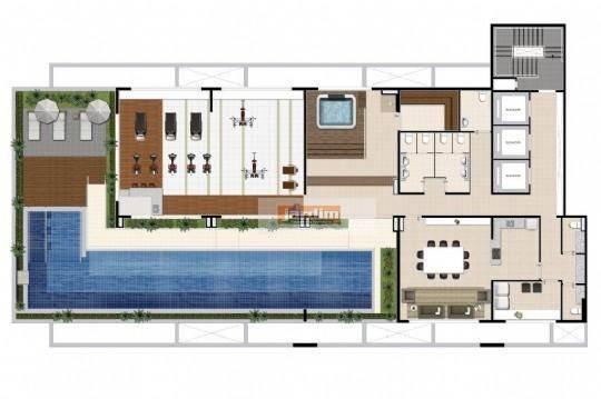 loft residencial à venda, jardim do mar, são bernardo do campo. - lf0004