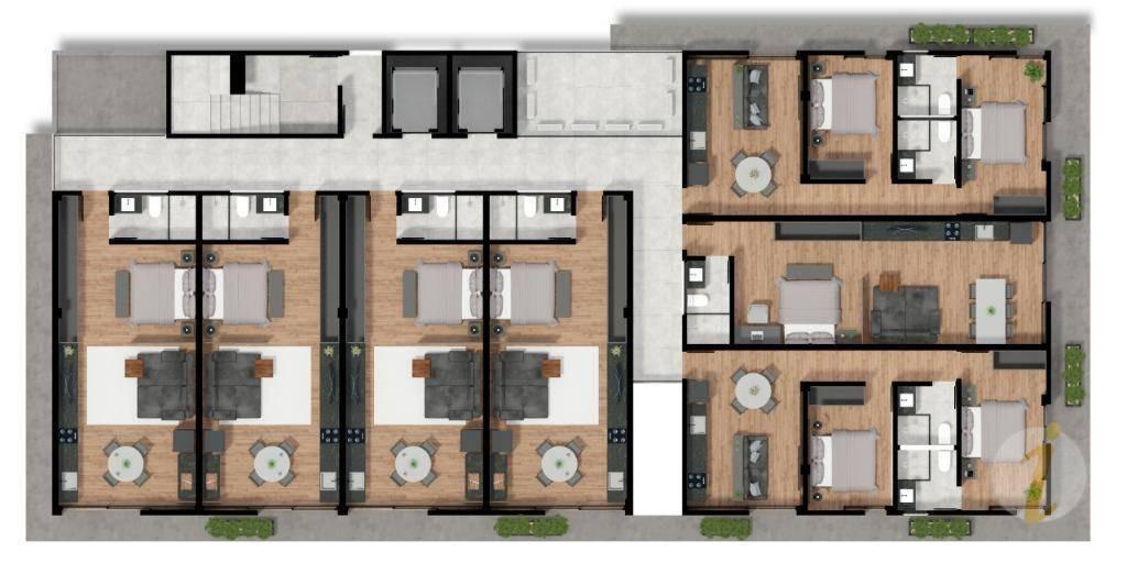 loft residencial à venda, tambaú, joão pessoa. - lf0002