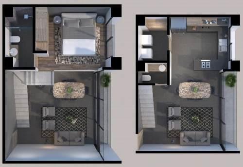 lofts a la  venta en hidalgo