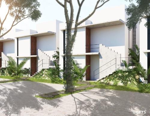 lofts en privada residencial campocielo modelo a preventa