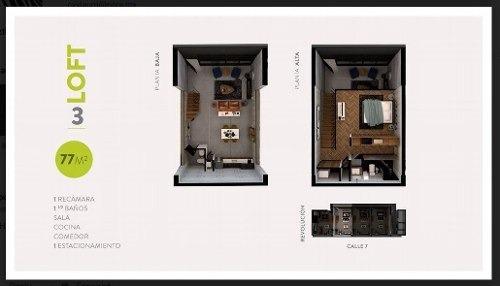 lofts en venta equipados en el centro de tijuana