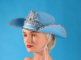 c025436b90 Loftus Rodeo Queen Lentejuelas Y Tiara Cowgirl Hat