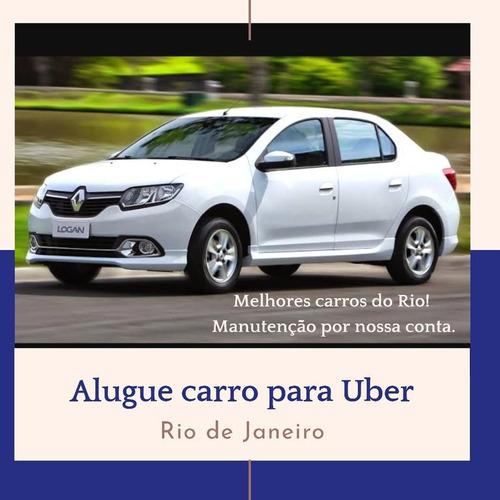 logan completo + gnv alugo para motorista uber no rj