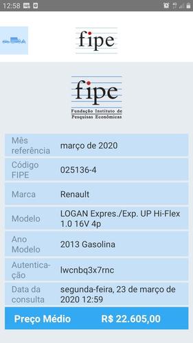 logan expression 1.0 16v flex 2013 completo