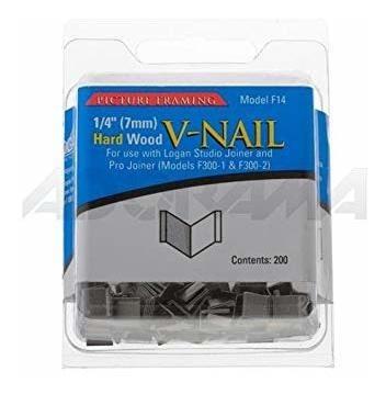 logan graphic products reemplazo v-uñas de madera duro, 1 /
