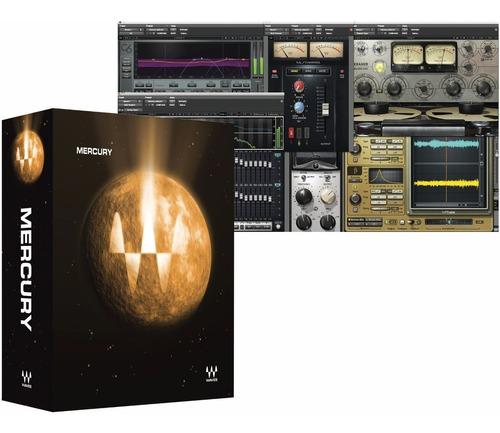 logic pro x 10 + waves mercury 9| pack software de grabación