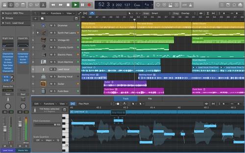 logic pro x vst mac audio daw
