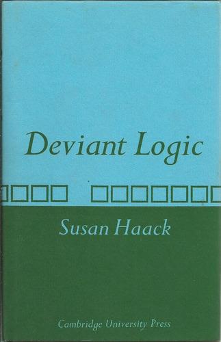 lógica no convencional. custiones filosóficas. s. haack.