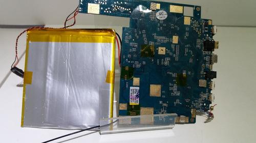 lógica tablet placa