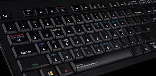 logickeyboard con windows pc astra shortcut backlit - lkbu-w