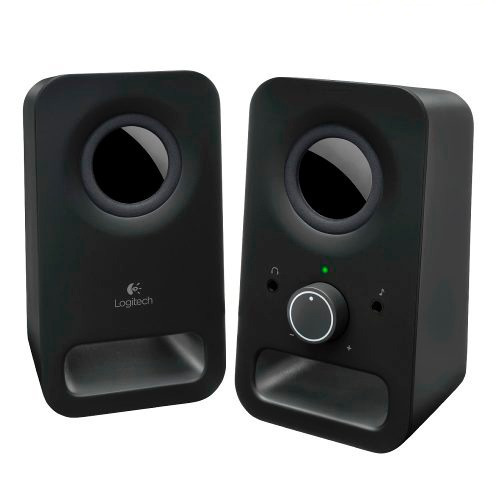 logitech bocinas 2.0 multimedia speakers z150 negras win/mac