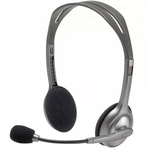 logitech diadema h110 con microfono integrado 3.5 981-000305