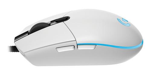 logitech g102 gaming mouse rato ratos rgb óptico 8000 dpi