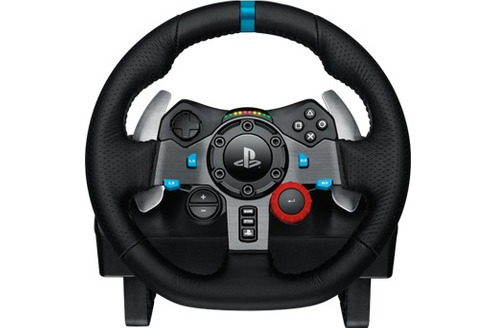 logitech g29 racing wheel ps4 y pc con pedales y vibración