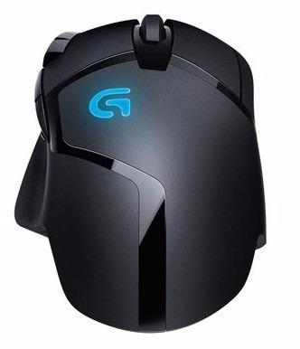 logitech g402 hyperion fury mouse gaming 4000 dpi usb negro