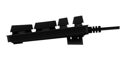 logitech g413 backlit mechanical gaming keyboard con usb 6ct