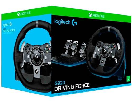 logitech g920 - driving force racing para microsoft xbox one