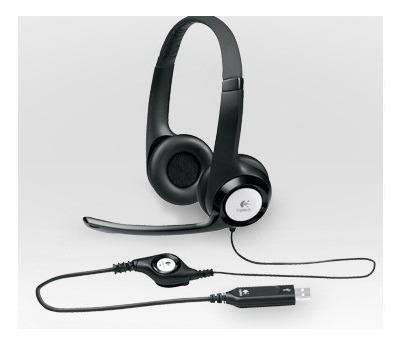 logitech headset audífonos h390 usb (gadroves)