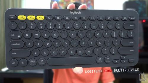 logitech k380 teclado bluetooth ipad mac pc a vista