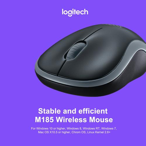 logitech m185 wireless wifi mouse mouse de computador móvel