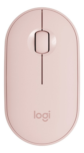 logitech m350 wireless mouse - rose