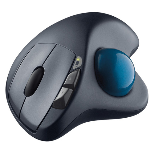 logitech mouse inalámbrico m570 con trackball - barulu