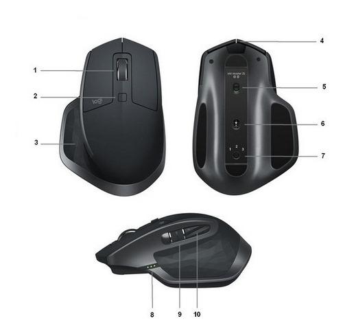 logitech mouse sem fio mx master 2s lacrado nfe e garantia