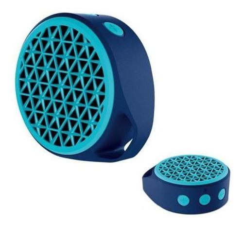 logitech parlante portable x50 bluetooth blue cuotas
