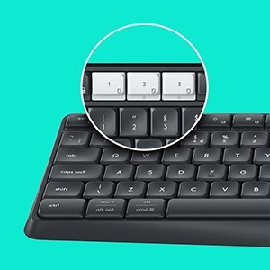 logitech teclado  k375s wireless