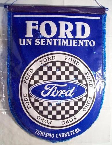 logo de ford, banderin 36 cm x 48 cm