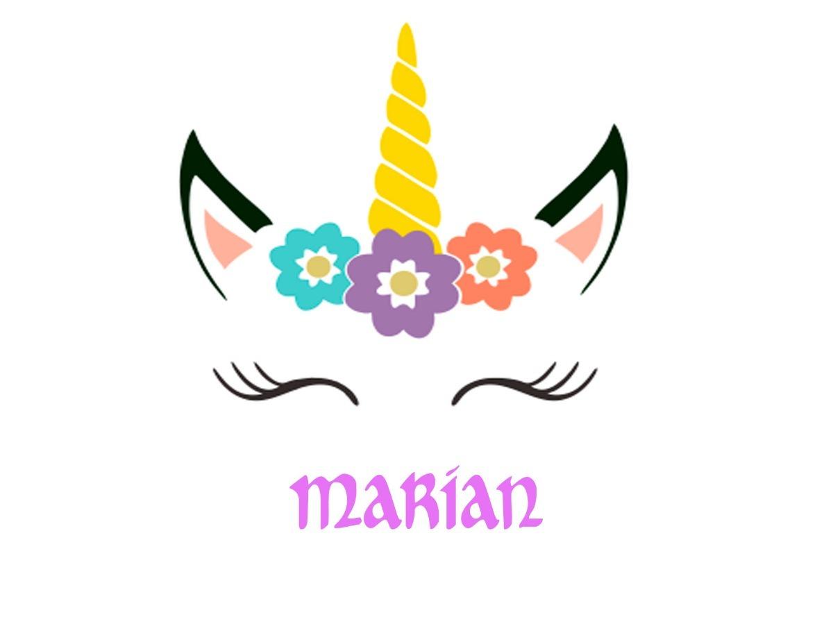 Logo De Unicornio Personalizado
