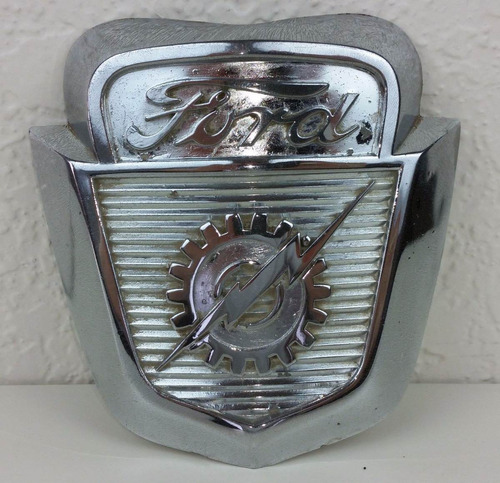 logo emblema ford fondo negro 8.6 cms importado usa