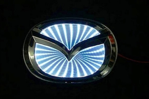 logo emblema led 3d para auto / varias marcas / electroworld