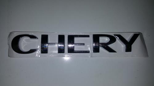 logo emblema letra chery original