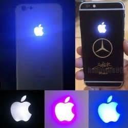 logo glow lamp instalado