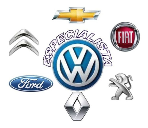logo insignia parrilla original vw gol - voyage desde 2016