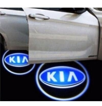 logo led puerta cortesia toyota chevrolet kia monster