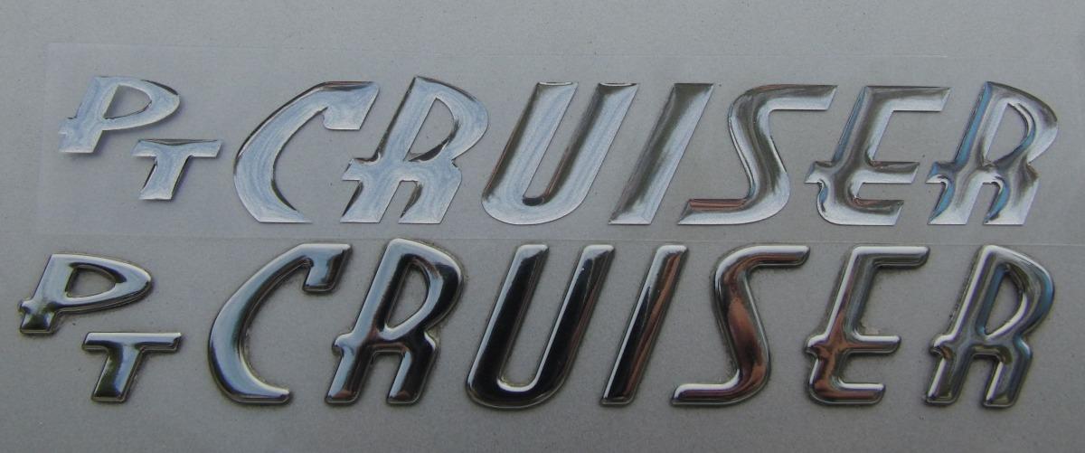 Aparador De Pelo Zoom ~ Logo Letras emblema Adesivo Siliconado Pt Cruiser R$ 200,00 em Mercado Livre