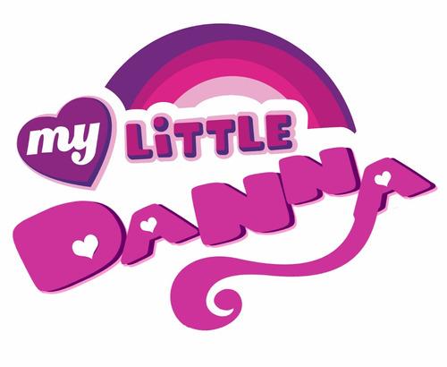 logo my little pony personalizado con tu nombre economico