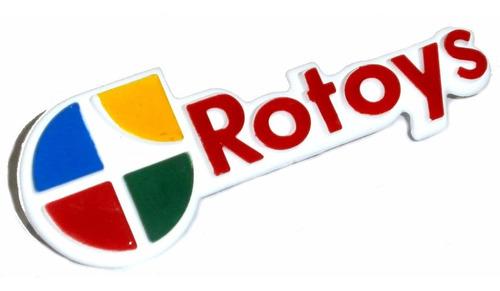 logo rotoys repuestos para autos insignia planeta juguete