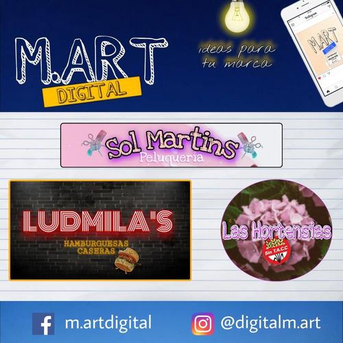 logos personalizados, publicidad digital