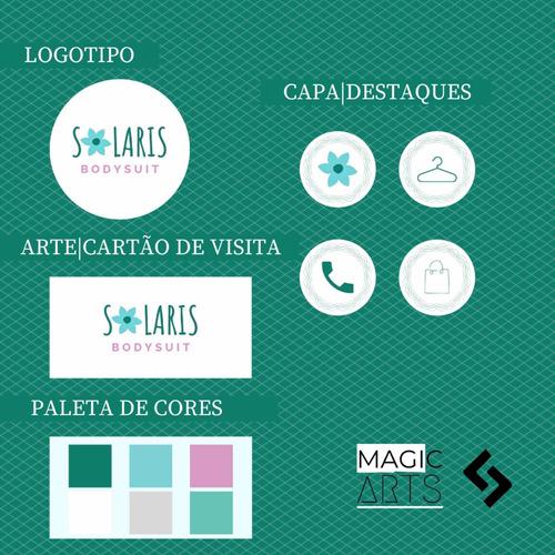 logotipo, art-cartão de visita, capa-destaques, cardápio etc