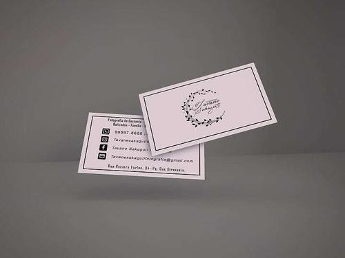 logotipo + cartão de visitas!